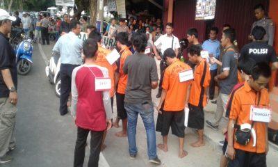 Rekonstruksi Penyerangan Siswa Asal Bogor