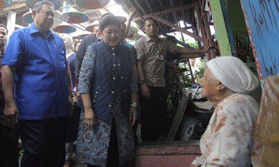 SBY KUNJUNGI KAMPUNG BEKELIR