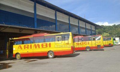 Bus di Terminal Merak