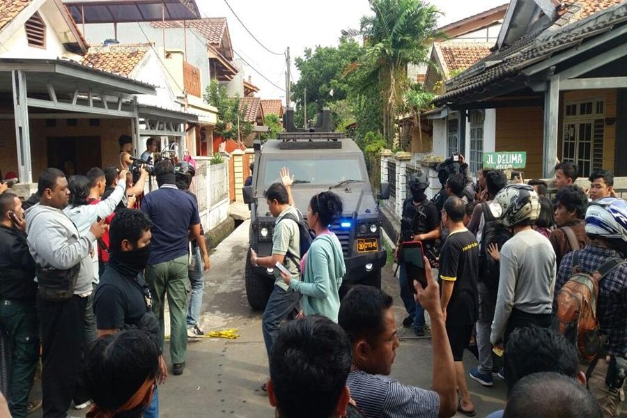 Teroris di Tangerang Ditangkap
