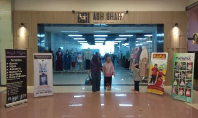 Fashion Muslim di Metropolis Tangerang