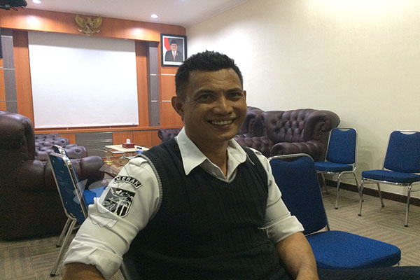 General Manager PT ASDP Indonesia Ferry Cabang Utama Merak atau PT ASDP Merak Fahmi Alweni