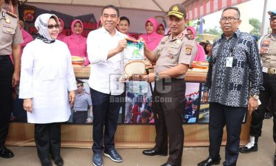 Polda Banten Operasi Pasar