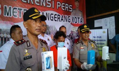 Pencuri Handphone di Mal Balekota Tangerang