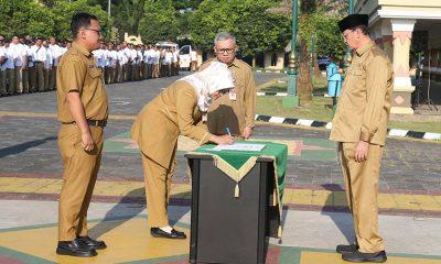 Wahidin Halim Lantik Pejabat