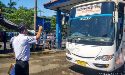 Bus di Terminal Mandala