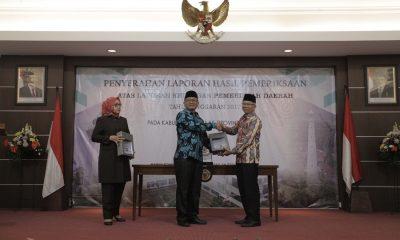 Pjs Wali Kota Tangerang Terima LHP BPK