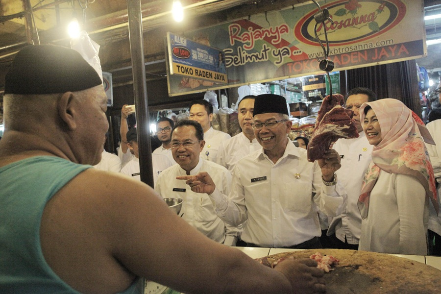 Pjs Wali Kota Tangerang Sidak Pasar