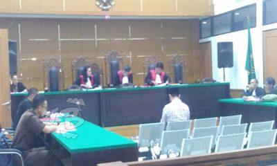 SIDANG Korupsi Bantuan Penanggulangan Padi puso di Pandeglang