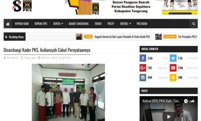 GP ANsor Banten Sebut Berita Hoax