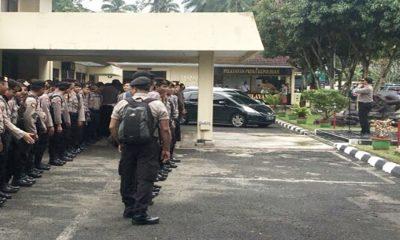 Polres Pandeglang BKO Pasukan