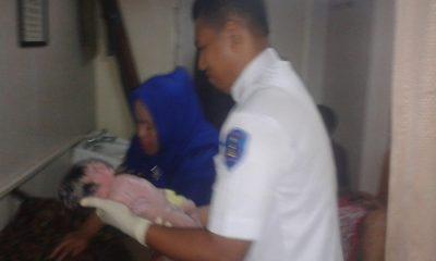 Bayi Perempuan Lahir di KMP Kirana