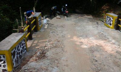 Dinas PUPR Pandeglang Perbaiki Jembatan