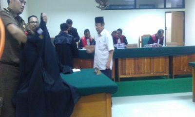 Direktur PT Tidar Sejahtera Takwin Ali Muchtar Korupsi