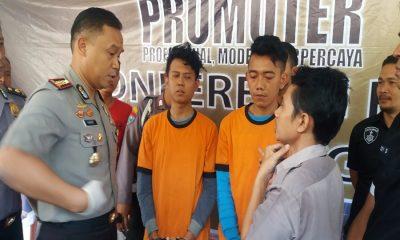 Pelaku Perampas Taksi Online Ditangkap