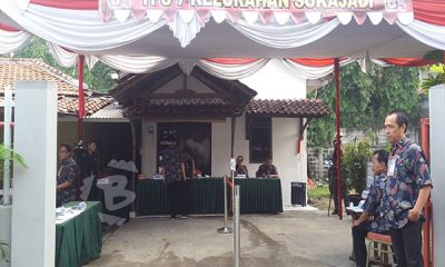 Di TPS 7 Tempat Arief Nyoblos, Warga Sudah Berdatangan sejak TPS Dibuka
