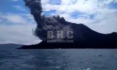 Erupsi Gunung Anak Krakatau