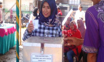 Istri Calon Wali Kota Serang Syafruddin