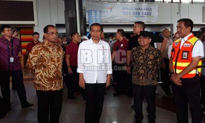 Jokowi ke Bandara Soetta
