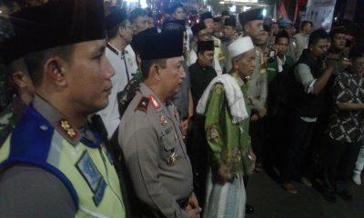 Kapolda Banten Hadiri Takbir Bersama