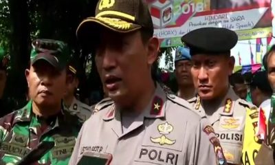 Kapolda Banten Pantau TPS di Tangerang