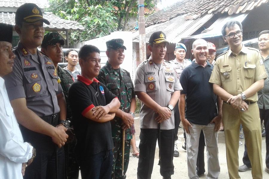 Kapolda Banten Tinjau TPS
