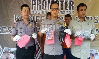 Airsoftgun Milik Polisi Gadungan