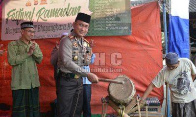 Kapolresta Tangerang Buka Festival Ramadan