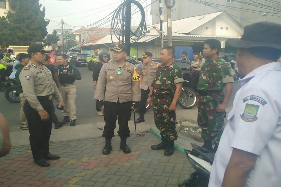 Kapolrestro Tangerang Pantau Pilkada