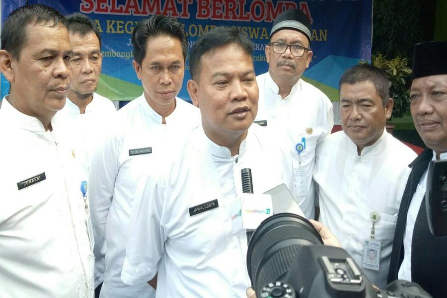 Ketua PGRI Kota Tangerang Jamaludin