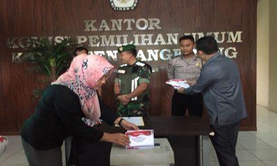 KPU Kabupaten Tangerang Hancurkan Surat Suara