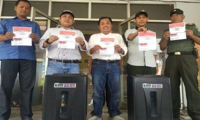 KPU Kota Tangerang Musnahkan Surat Suara Rusak