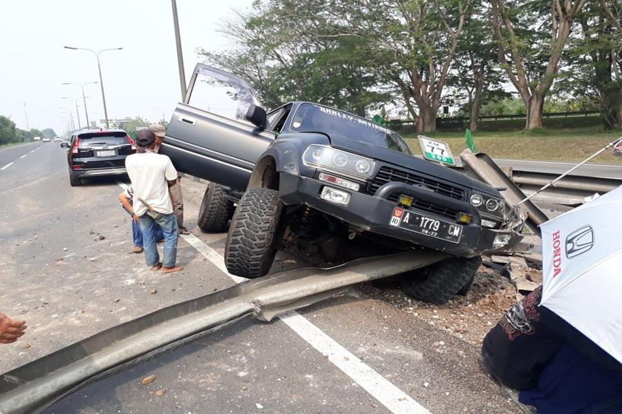 Kecelakaan di Tol Tangerang-Merak