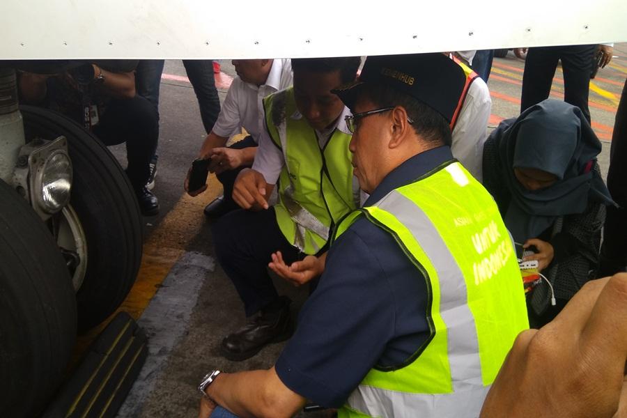 Menhub Ramp Check di Bandara Soetta