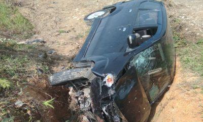 Mobil Dinas Terlibat Kecelakaan