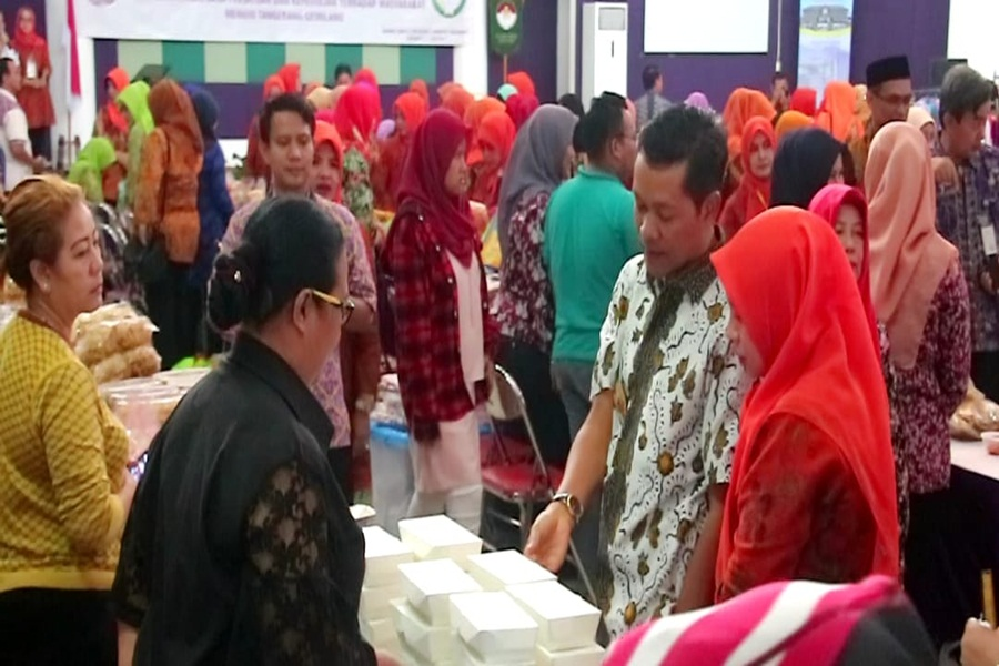 Pjs Bupati Tangerang Buka Bazar