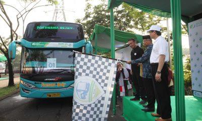 Pjs Wali Kota Tangerang Lepas Pemudik