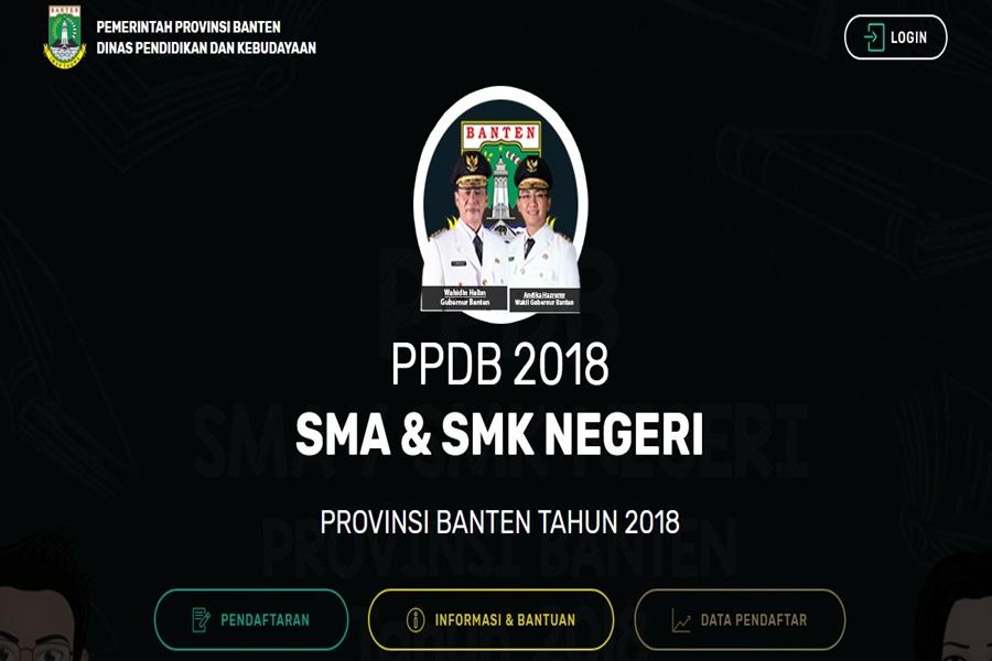 PPDB Online di Banten