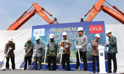 Pemkab Tangerang dan Alam Sutera Groundbreaking Simpang Susun Cikupa