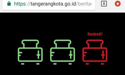 Situs Pemkot Tangerang Diretas