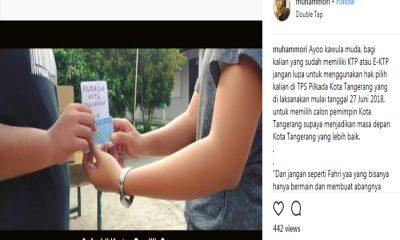 Video Ajakan Mencoblos Pilwakot Tangerang