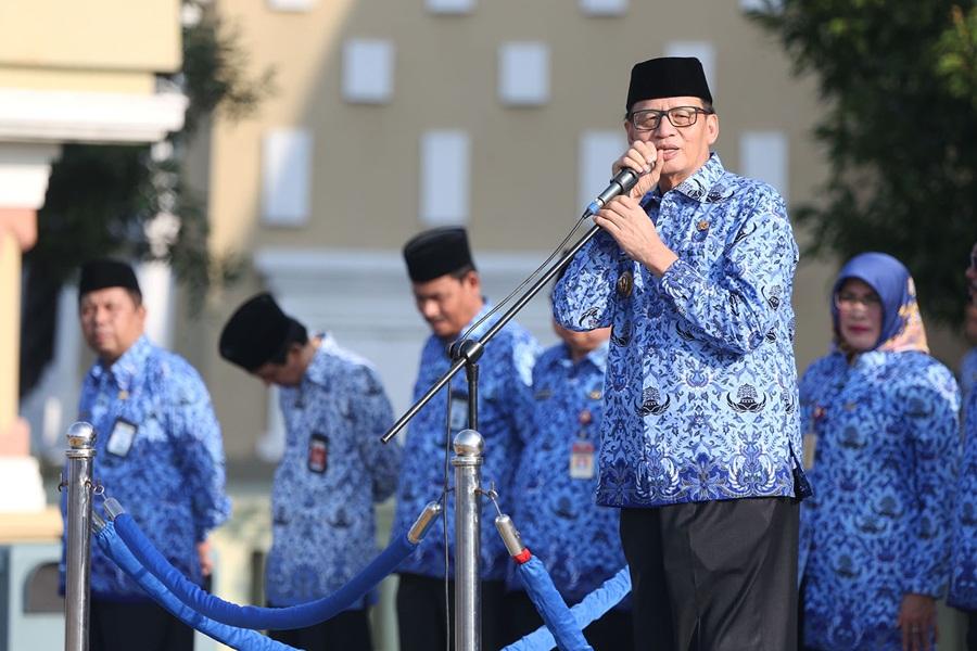 Wahidin Halim Apel Perdana Cuti Lebaran