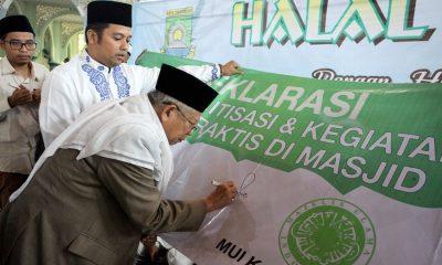 Laboratorium Halal Pemkot Tangerang ARIEF HALAL BI HALAL MASJID AL AZHOM 7 JULI 2018