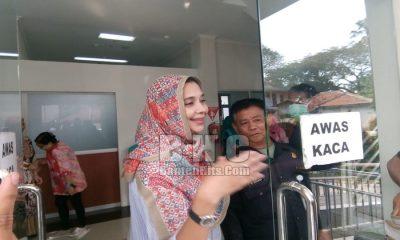 Ayu Jalani Tes Kesehatan di RSUD Tangerang