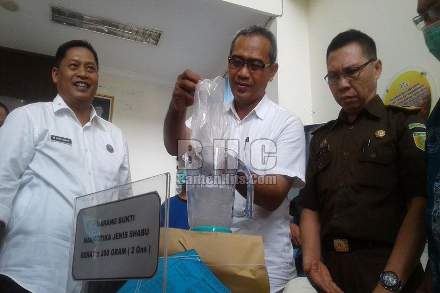 BNN Banten Musnahkan Sabu