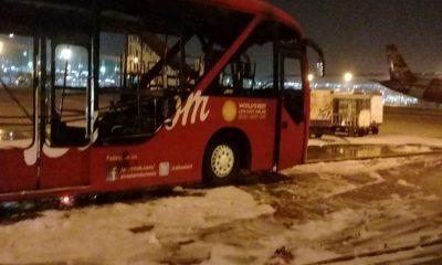 Bus AirAsia Terbakar