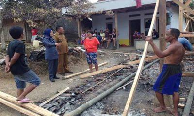 Djudju Yumiarsih Kunjungi Korban Kebakaran