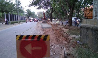 Jalan Halim Perdana Kusuma Diperbaiki