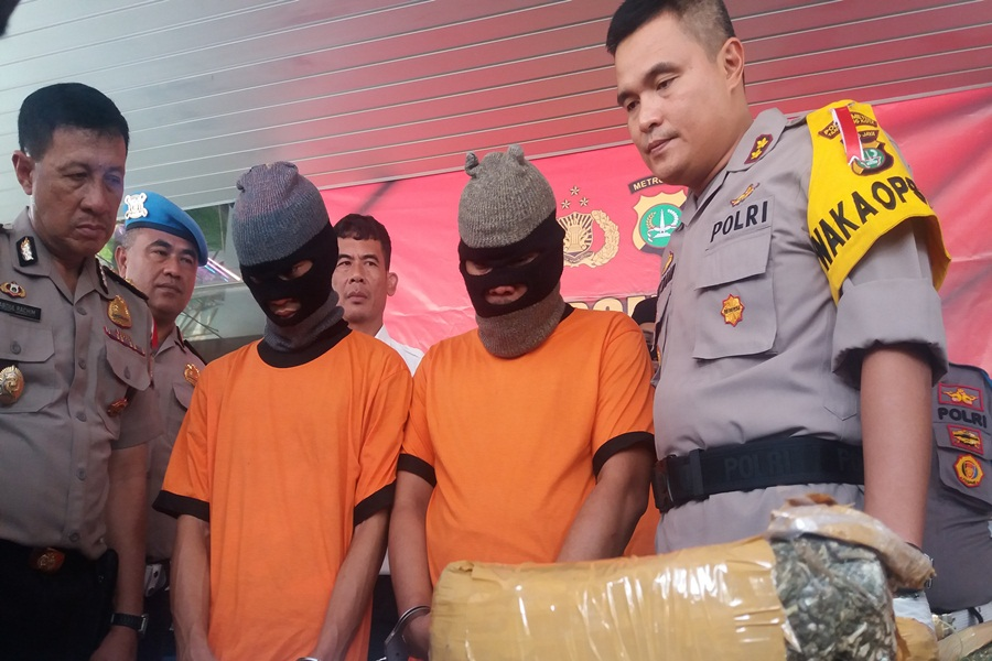Pengedar Narkoba di Tangerang