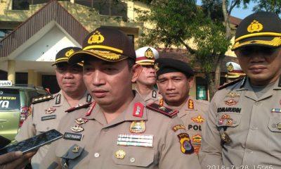Kapolda Banten Cek Rute Pawai Obor